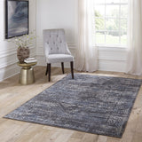 Momeni Juliet JU-02 Charcoal Area Rug Room Scene
