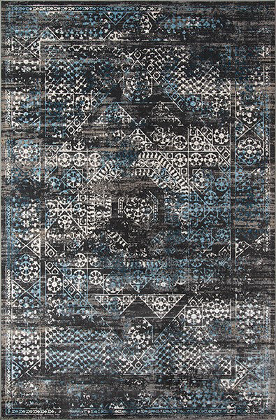 Momeni Juliet JU-02 Charcoal Area Rug main image