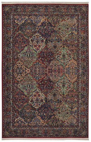 Karastan Original Multi Panel Kirman Area Rug main image
