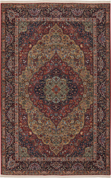 Karastan Original Medallion Kirman Area Rug Incredible