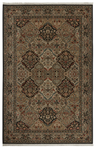 Karastan Original Empress Kirman Black Area Rug main image