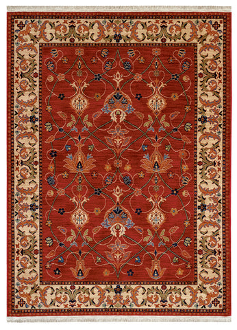 Karastan English Manor William Morris Red Area Rug main image