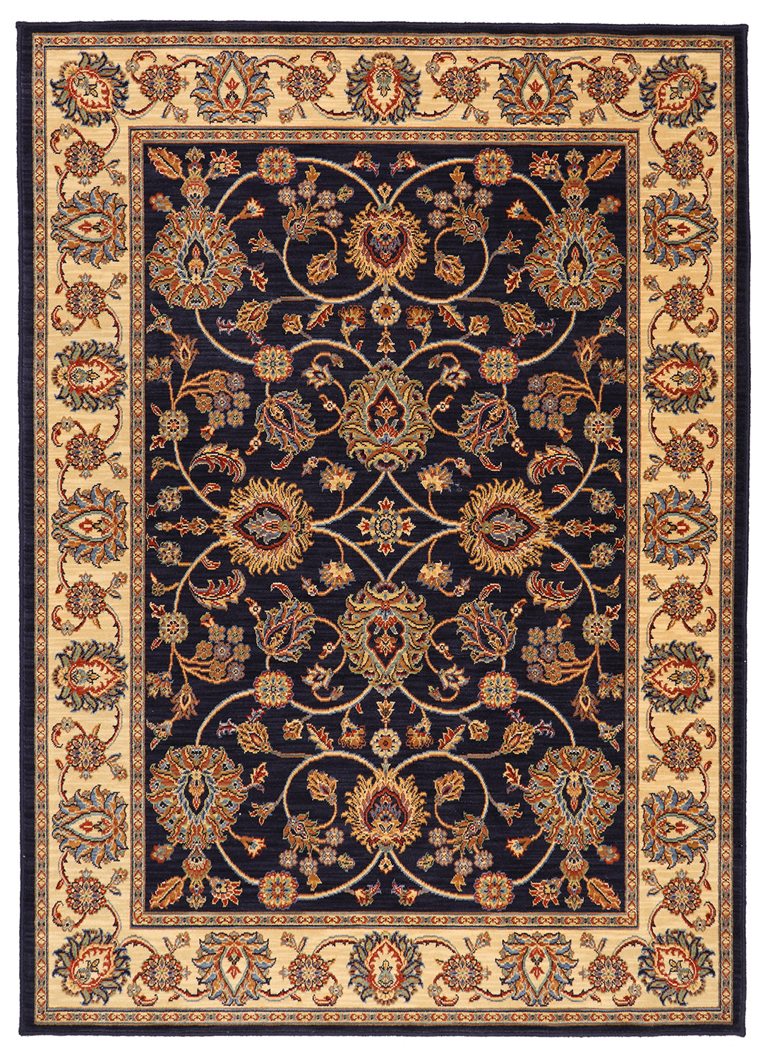 Karastan English Manor Oxford Navy Area Rug main image