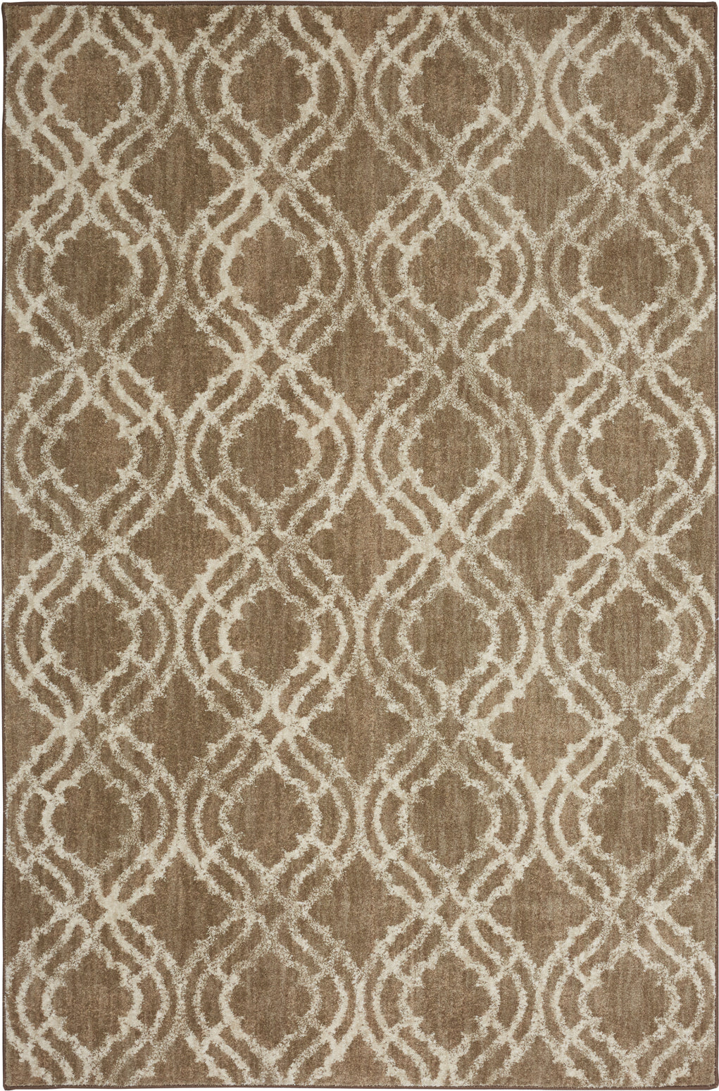 Karastan Euphoria Potterton Hazelnut Area Rug by Lattice main image