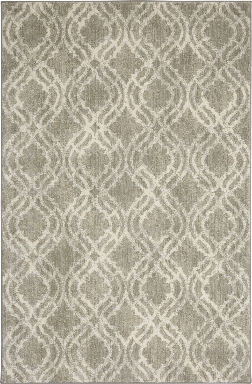 Karastan Euphoria Potterton Willow Grey Area Rug by Lattice main image
