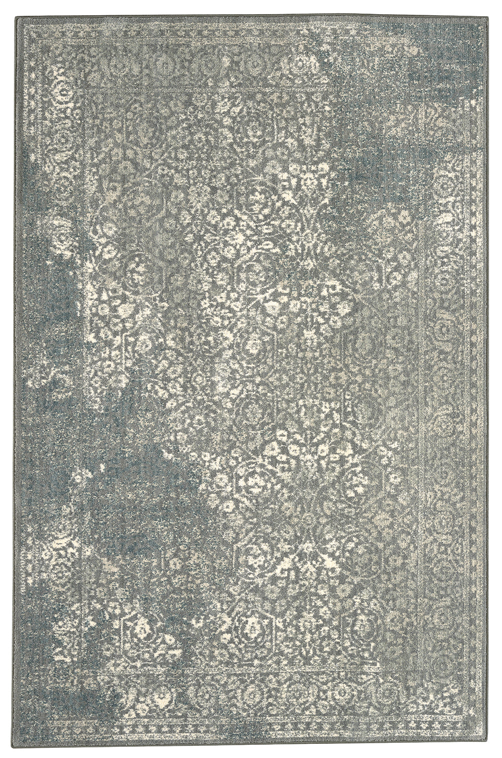 Karastan Euphoria Ayr Willow Grey Area Rug main image