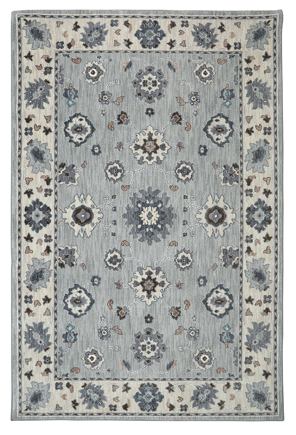 Karastan Euphoria Kirkwall Willow Grey Area Rug main image