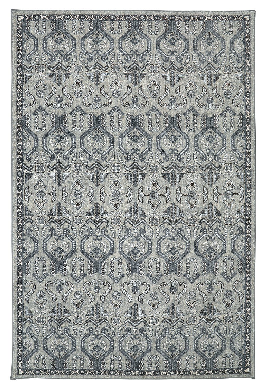 Karastan Euphoria Castine Willow Grey Area Rug main image