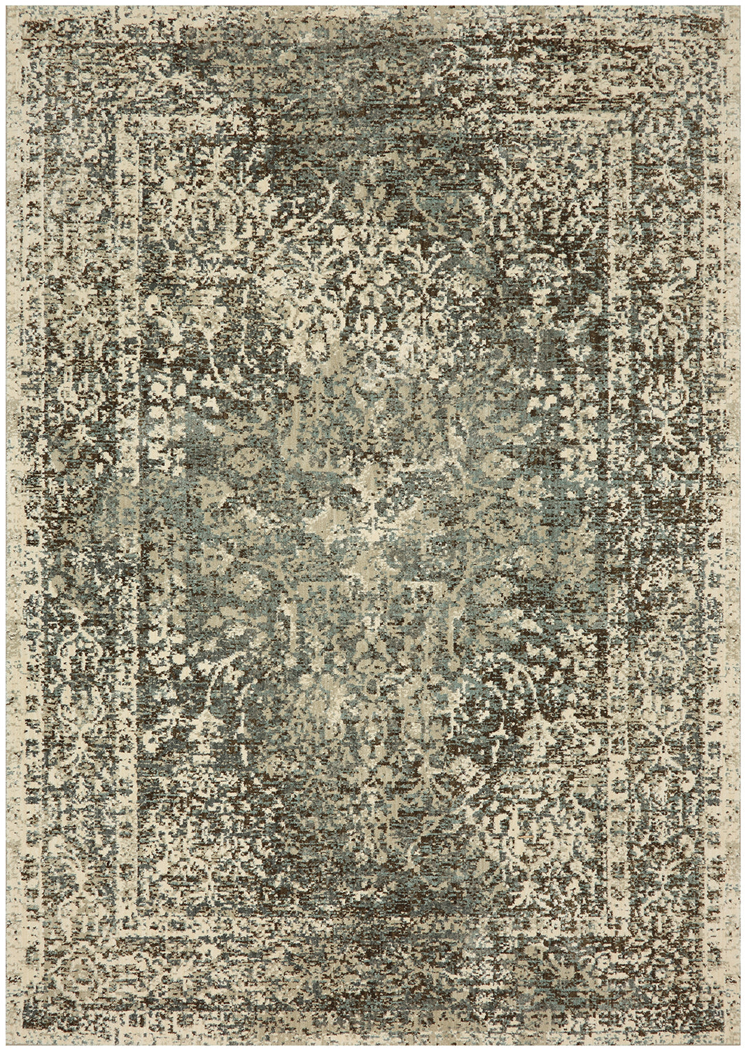 Karastan Touchstone Sanctuary Sandstone by Virginia Langley Area Rug