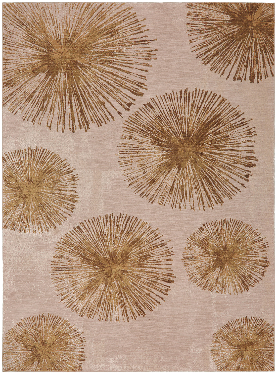 Karastan Cosmopolitan Haight Brushed Gold Area Rug main image