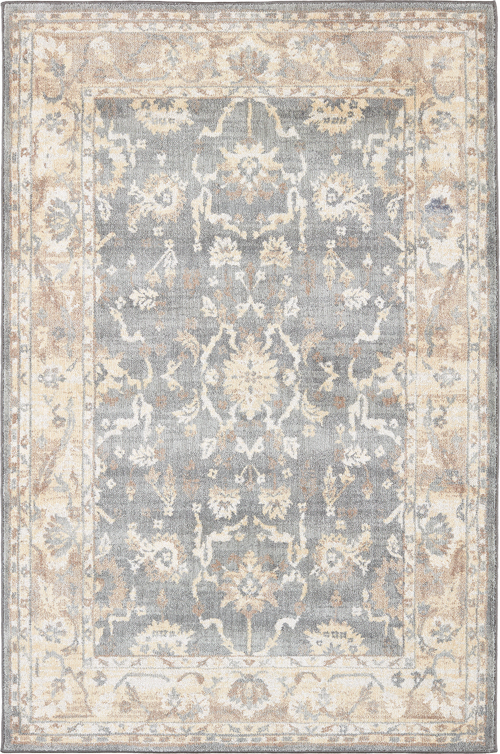 Karastan Euphoria Liffey Willow Gray Area Rug main image