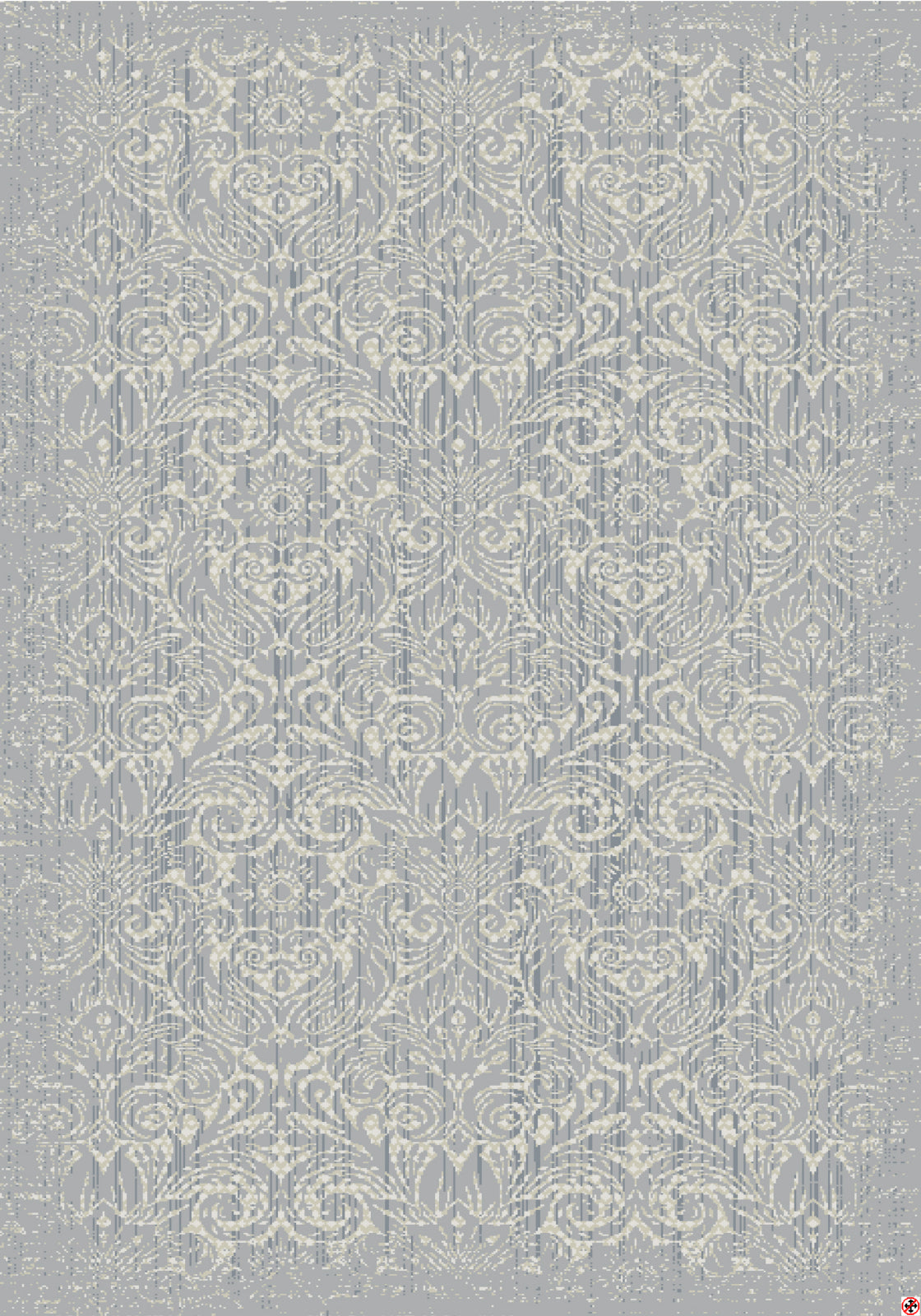 Karastan Euphoria Barrow Willow Gray Area Rug main image