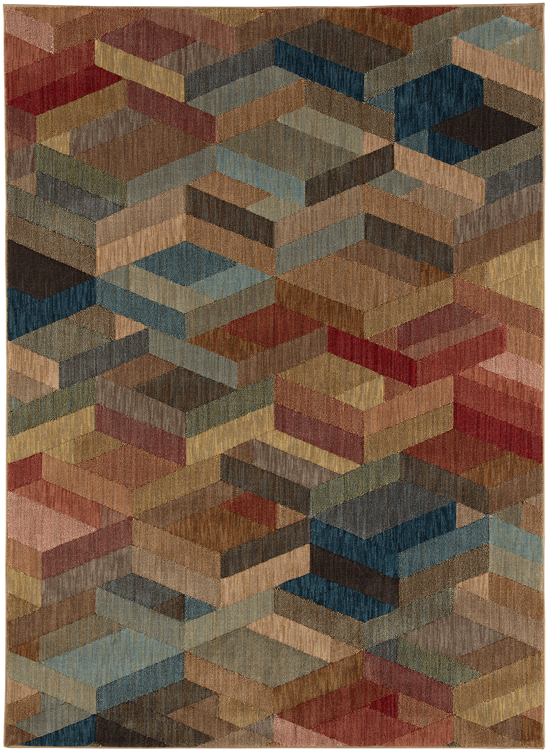 Karastan Intrigue Ignite Multi Area Rug main image