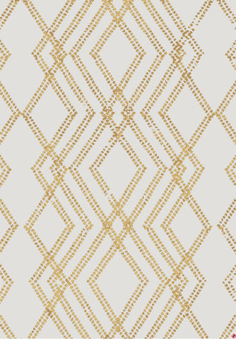 Karastan Cosmopolitan French Affair Brushed Gold by Patina Vie Area Rug cad