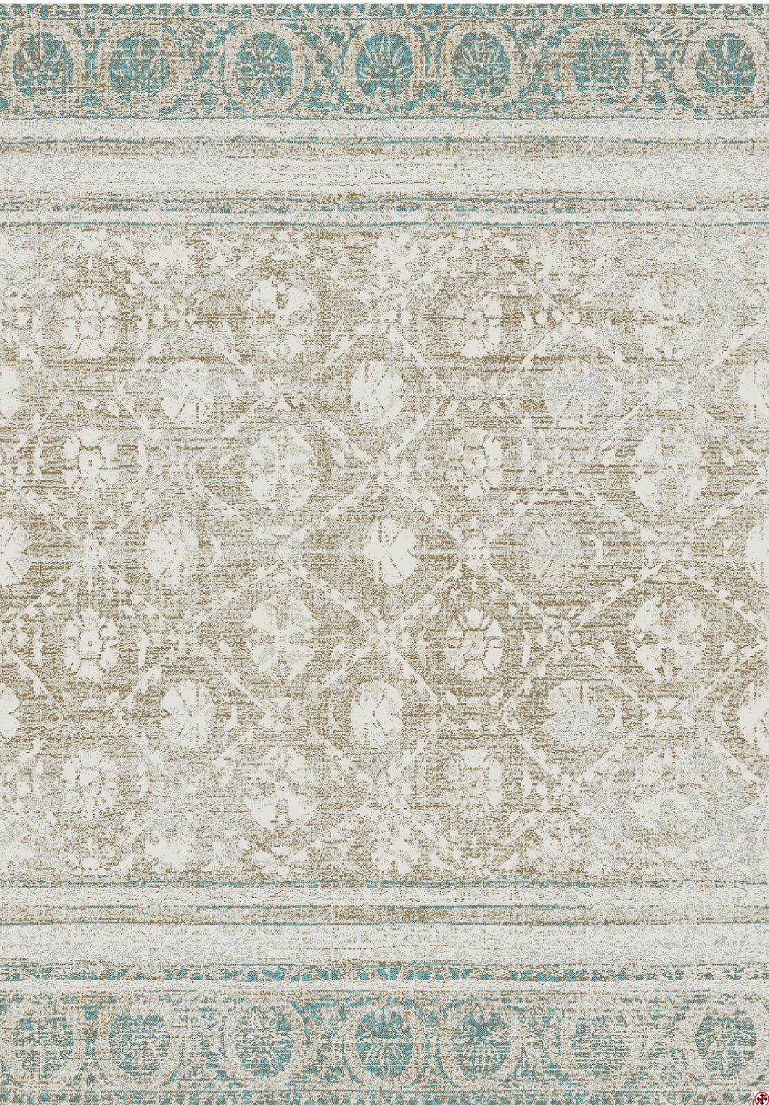 Karastan Touchstone Martinique Hazelnut Area Rug by Patina Vie main image