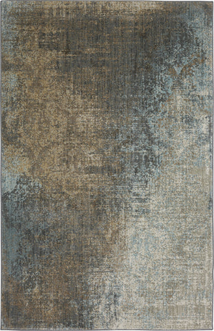 Karastan Touchstone Catarina Jadeite Multi Area Rug by Virginia Langley main image