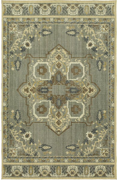 Mohawk Home Vintage Tapis Left Bank Grey Multi Area Rug By Patina