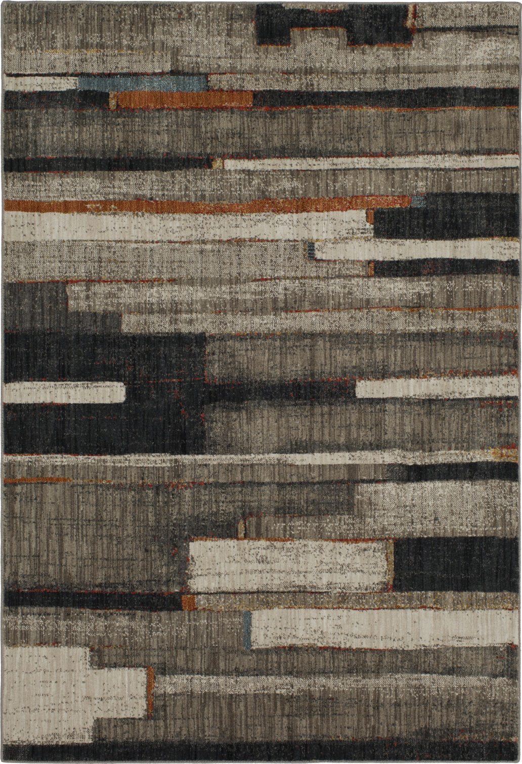 Karastan Elements Compose Charcoal Area Rug main image