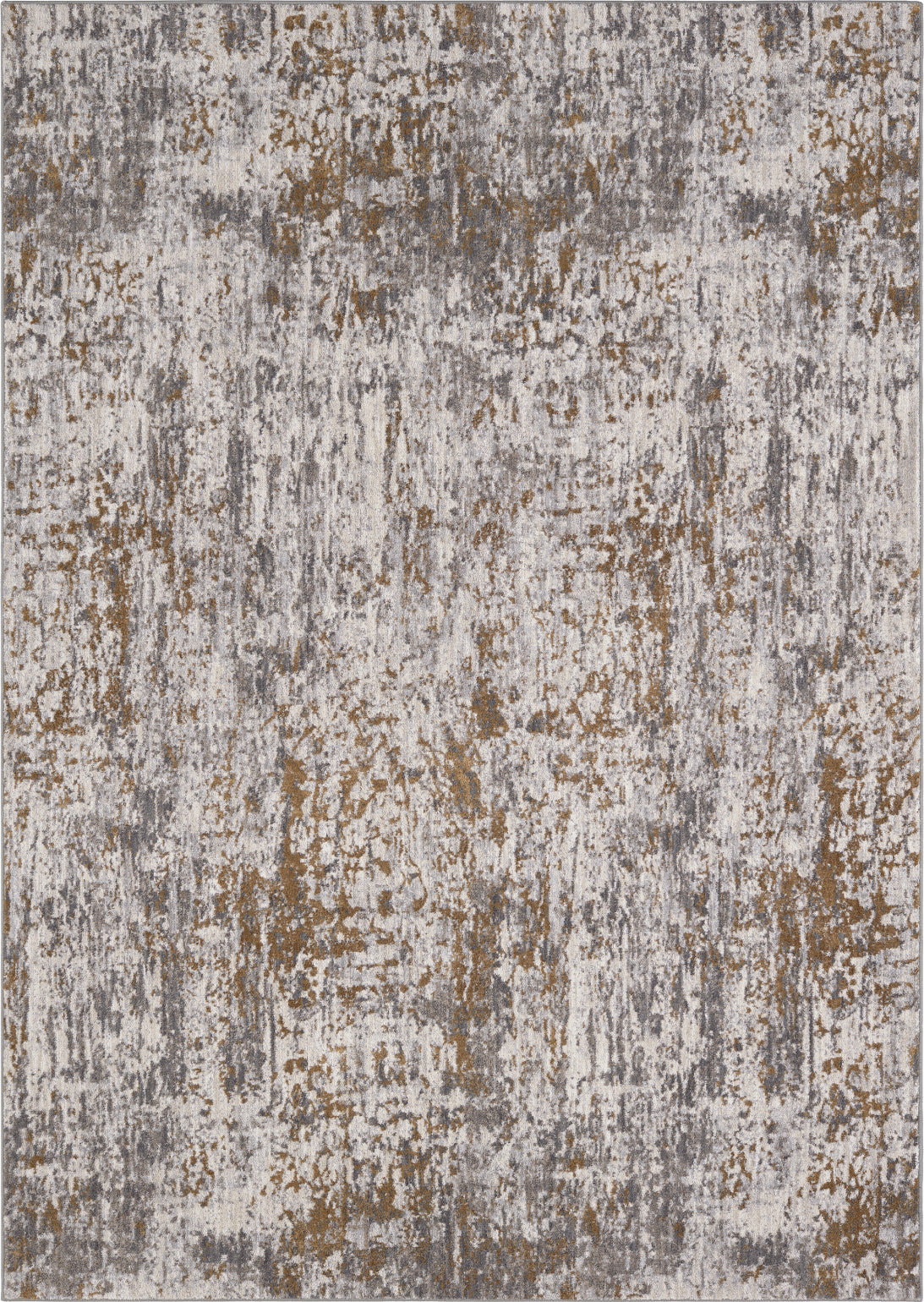 Karastan Enigma Metamorphic Brushed Gold Area Rug main image