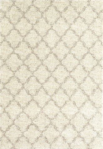 Karastan Prima Shag Temara Lattice Brown Area Rug main image