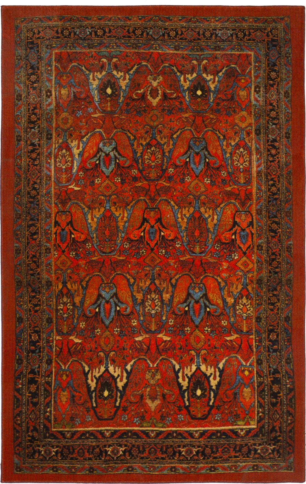 Karastan Antiquity Susa Red Area Rug main image