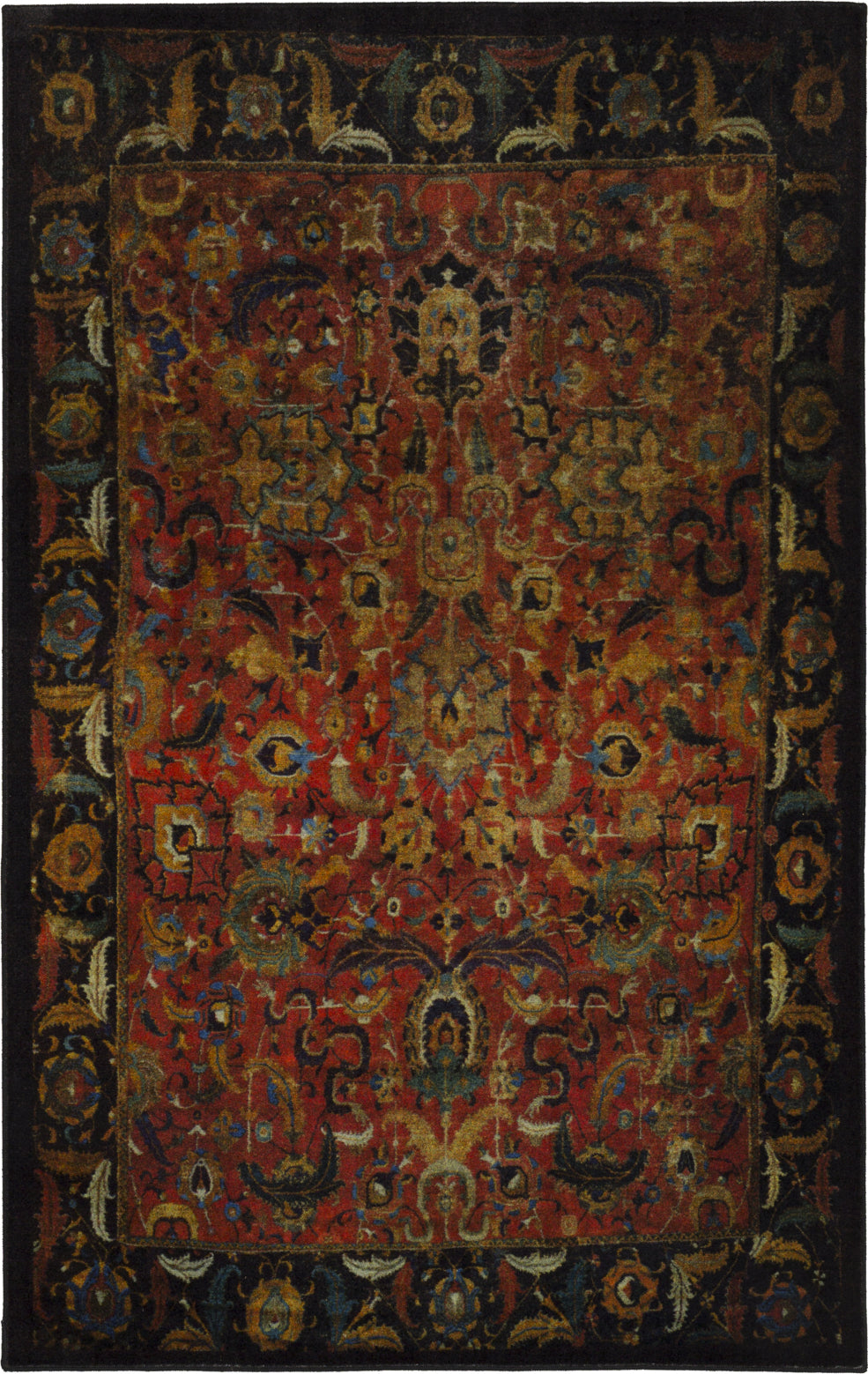 Karastan Antiquity Tehran Red Area Rug main image