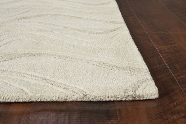 Kas Eternity 1085 Ivory Waves Area Rug Incredible Rugs And Decor