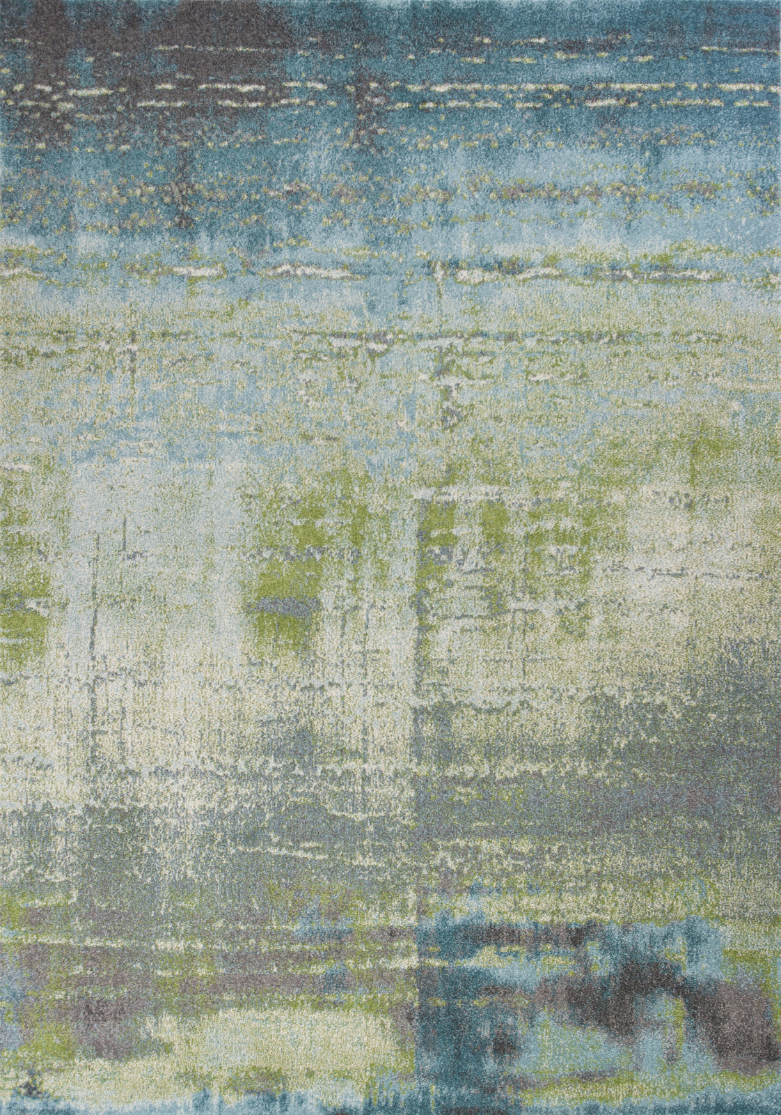 Picture of: Kas Illusions 6206 Blue Green Escape Area Rug Incredible Rugs And Decor