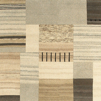 LR Resources Kasteli 03826 Natural Beige Area Rug