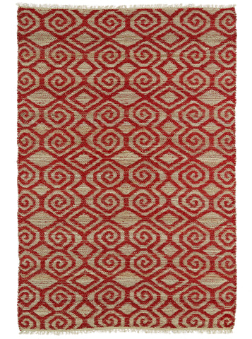 Kaleen Kenwood KEN02-25 Red Area Rug main image