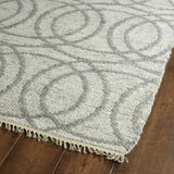 Kaleen Kenwood KEN03-75 Grey Flat Weave Area Rug