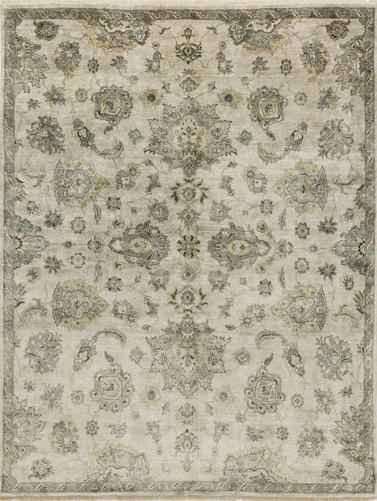 Loloi Kensington KG-02 Pewter Area Rug by Henrietta Spencer-Churchill main image