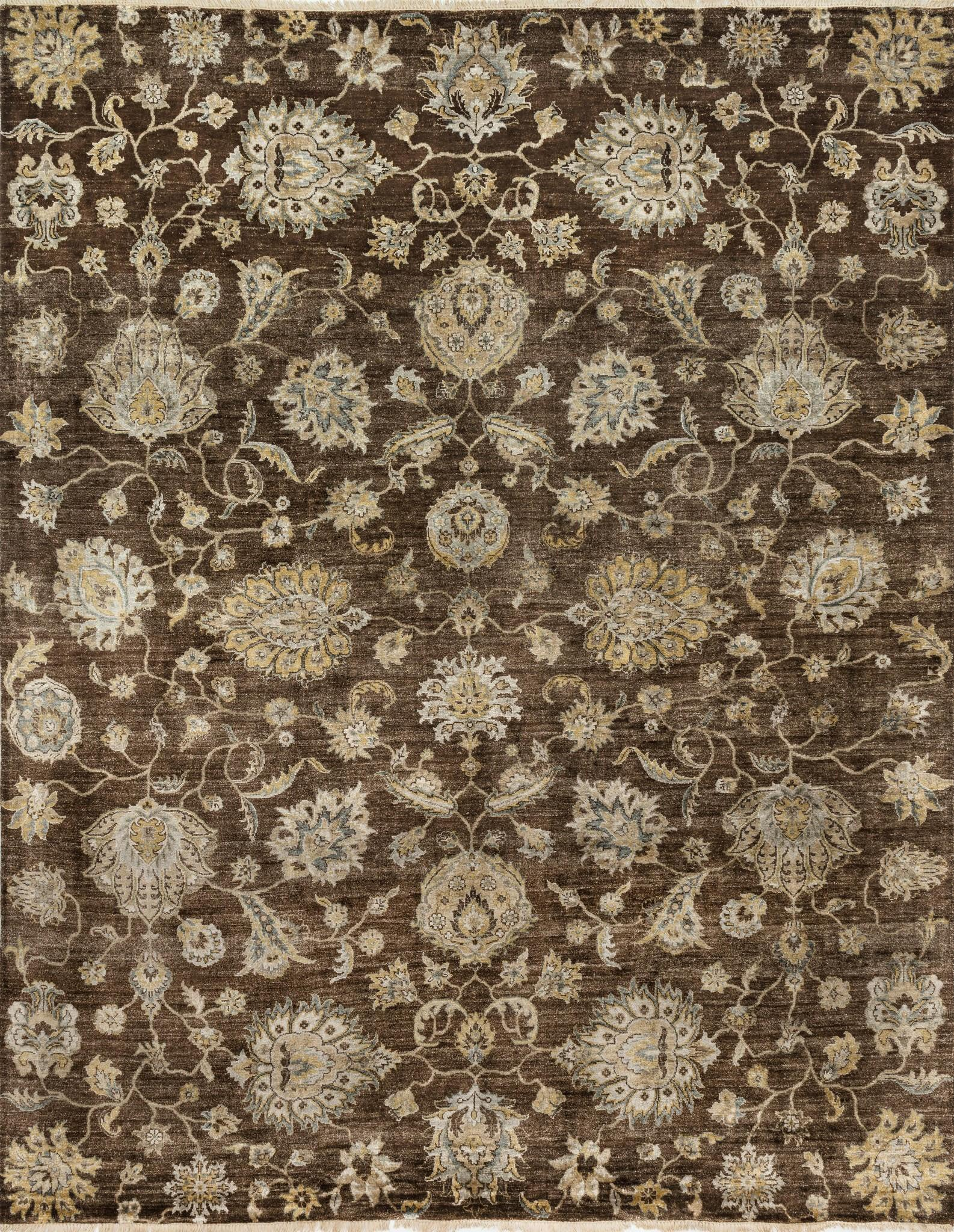 Loloi Kensington KG-04 Turkish Coffee Area Rug by Henrietta Spencer-Churchill main image