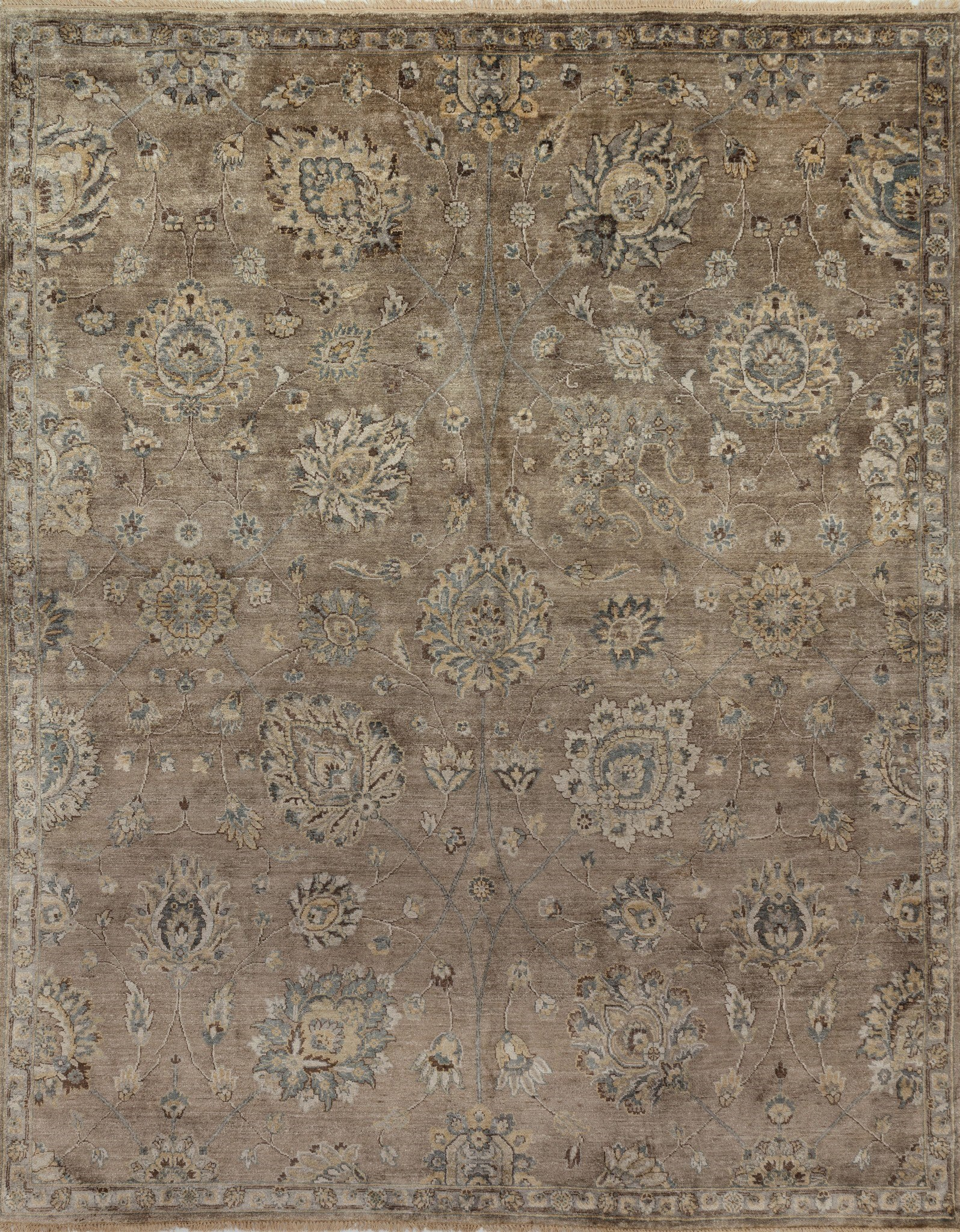 Loloi Kensington KG-06 Feather/Gray Area Rug by Henrietta Spencer-Churchill main image