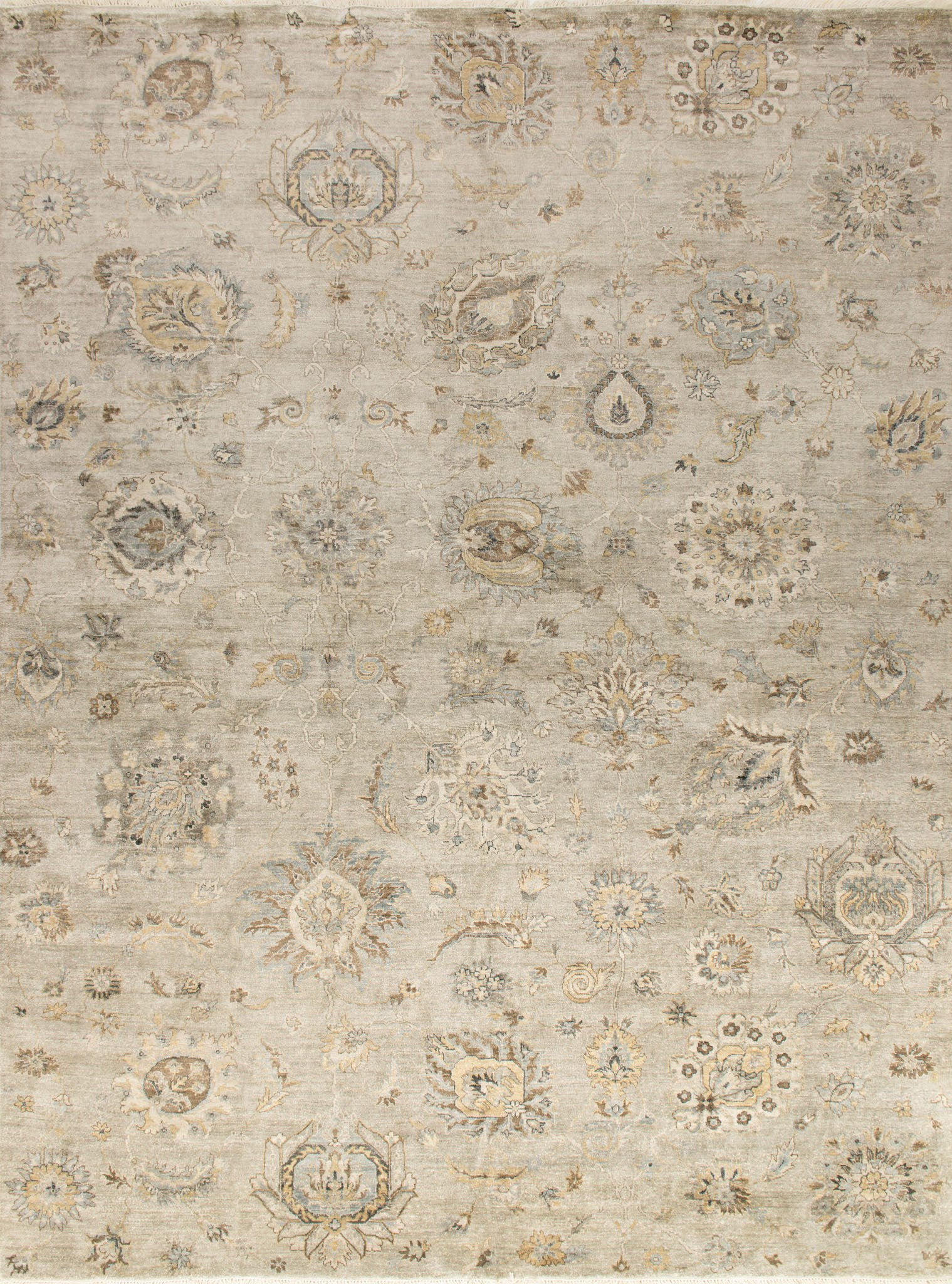 Loloi Kensington KG-07 Silver Area Rug by Henrietta Spencer-Churchill main image