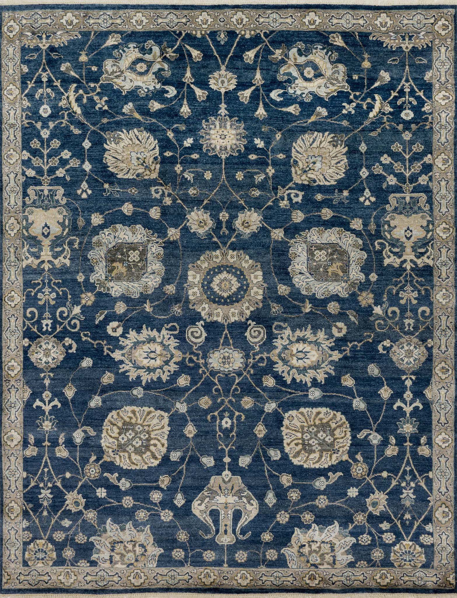 Loloi Kensington KG-08 Midnight Area Rug by Henrietta Spencer-Churchill main image