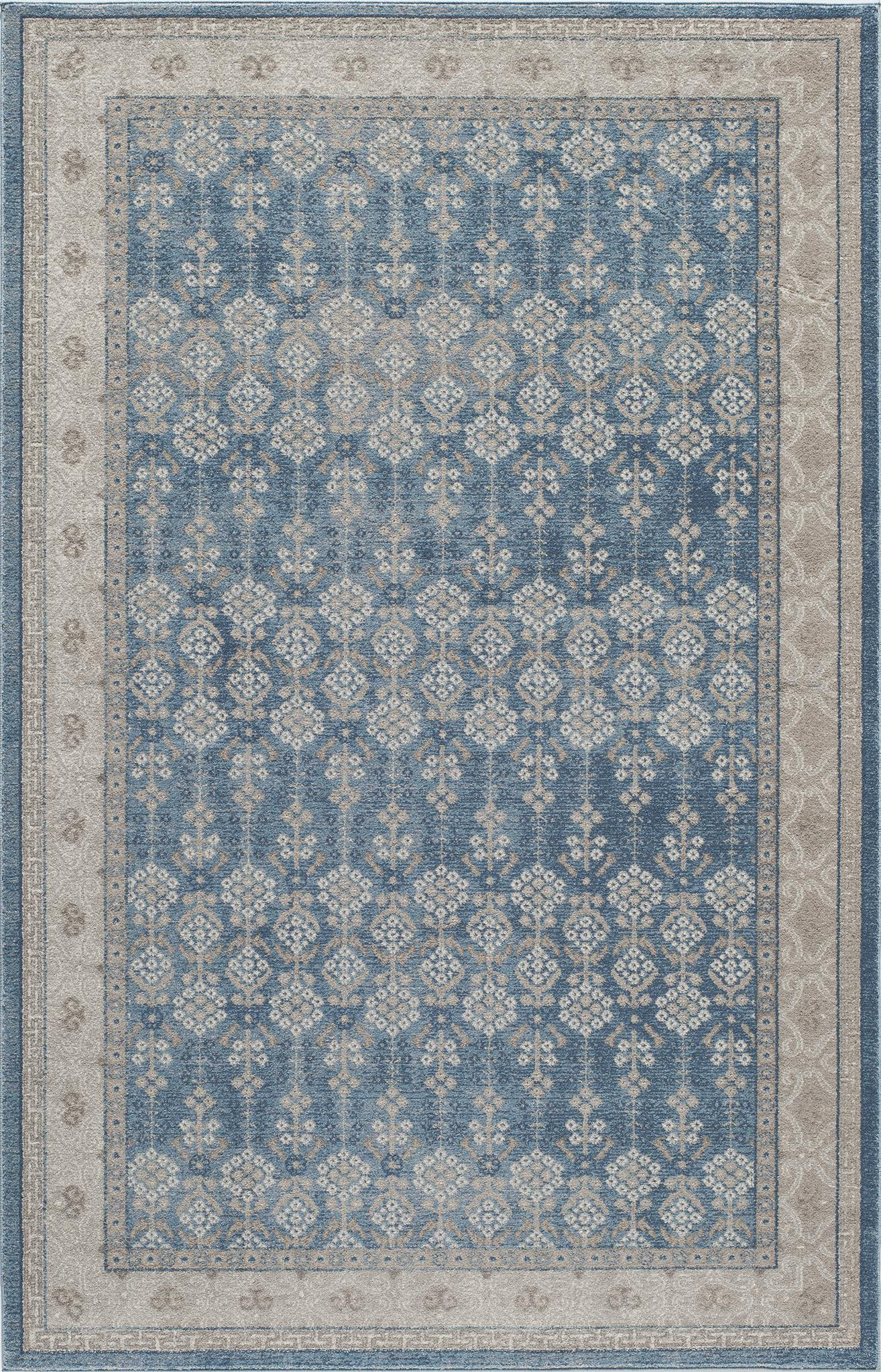 Momeni Kerman KE-04 Blue Area Rug main image