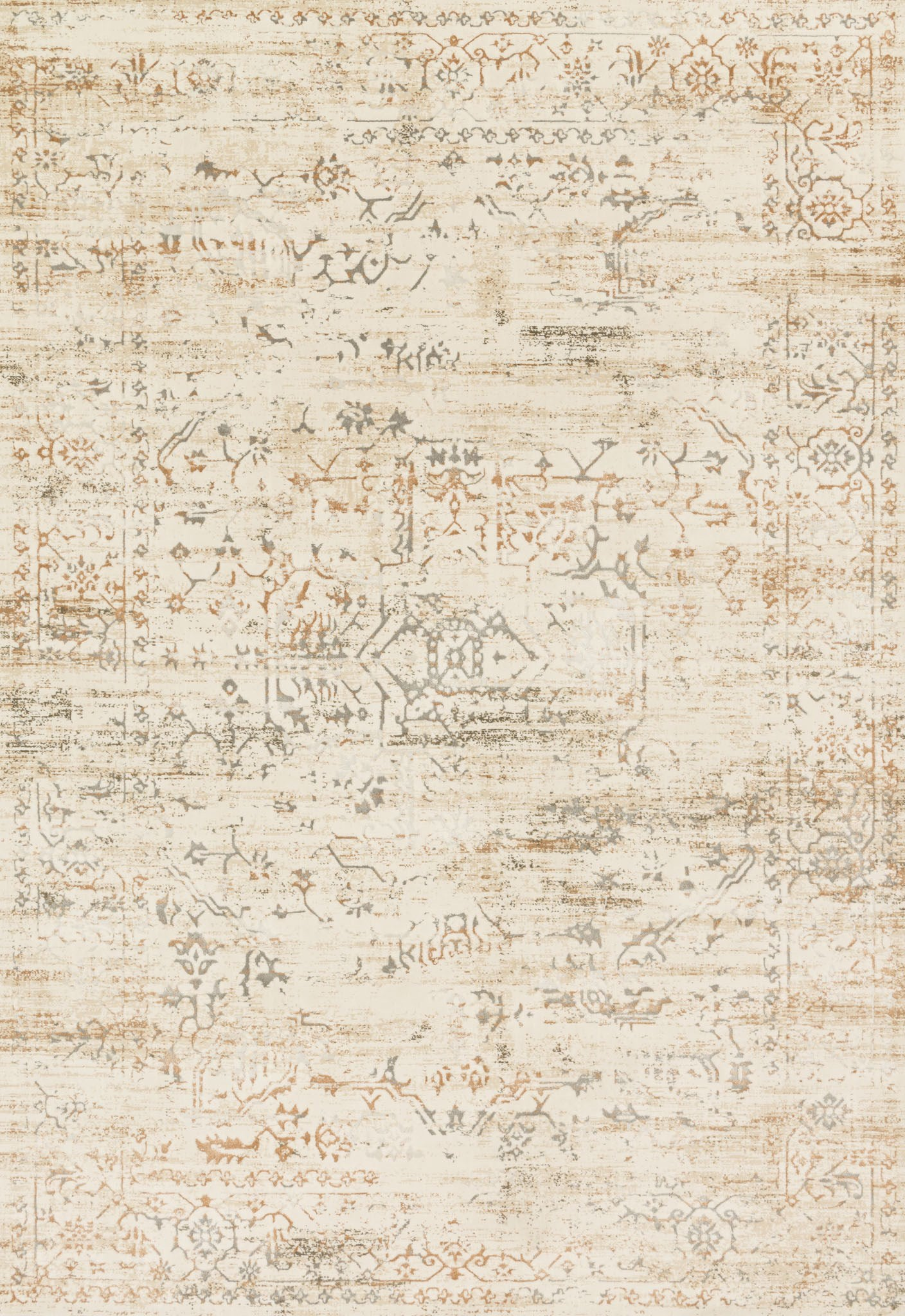 Loloi Kingston KT-01 Cream / Multi Area Rug main image