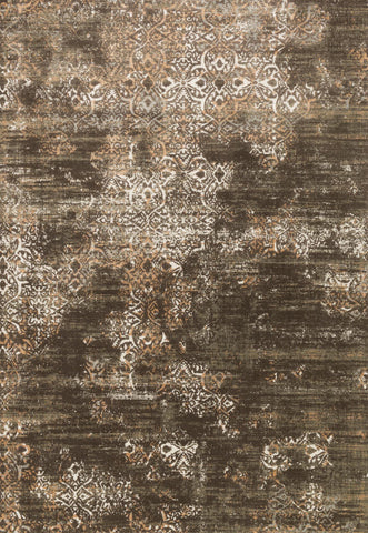 Loloi Kingston KT-02 Dk Taupe / Multi Area Rug main image
