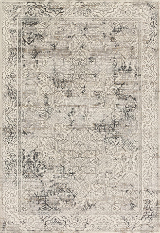 Loloi Kingston KT-06 Ivory / Grey Area Rug main image