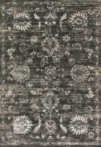 Loloi Kingston KT-07 Charcoal / Silver Area Rug main image