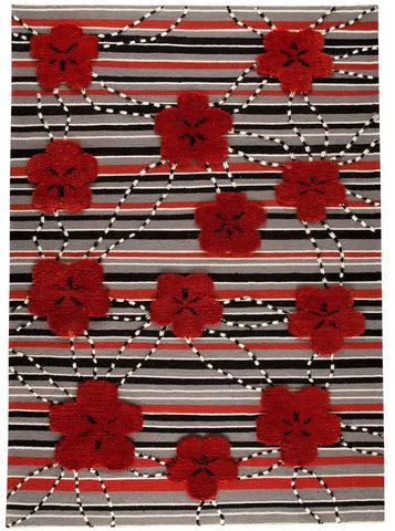 MAT Wako Kingston Red Area Rug main image