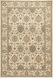 KAS Kingston 6404 Ivory Rania Machine Woven Area Rug
