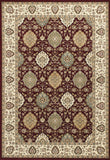 KAS Kingston 6405 Ruby/Ivory Rania Machine Woven Area Rug