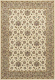 KAS Kingston 6407 Ivory/Beige Mahal Machine Woven Area Rug