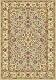 KAS Kingston 6413 Beige/Ivory Tabriz Machine Woven Area Rug