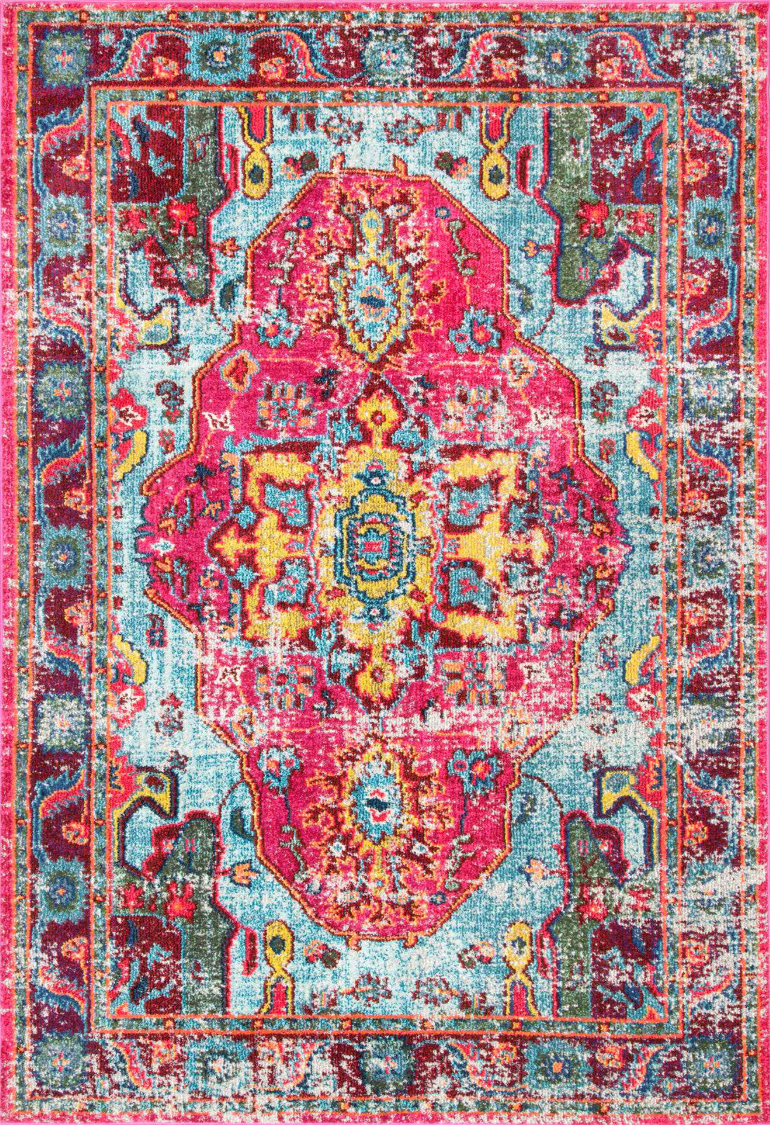 nuLOOM Machine Made Simone KKCB11A Multi Area Rug main image
