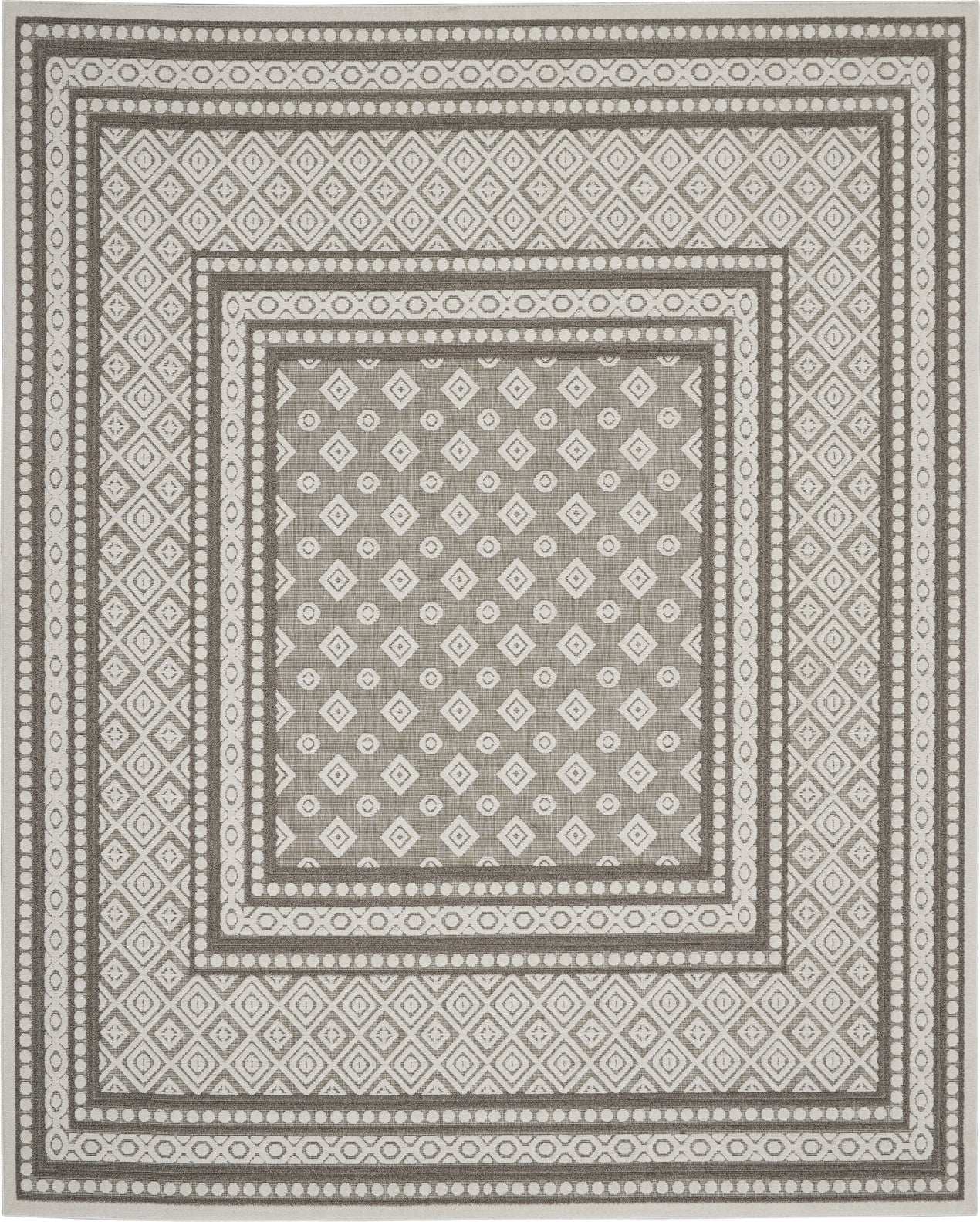 Nourison Key Largo Klg02 Dark Grey Area Rug Incredible Rugs And Decor