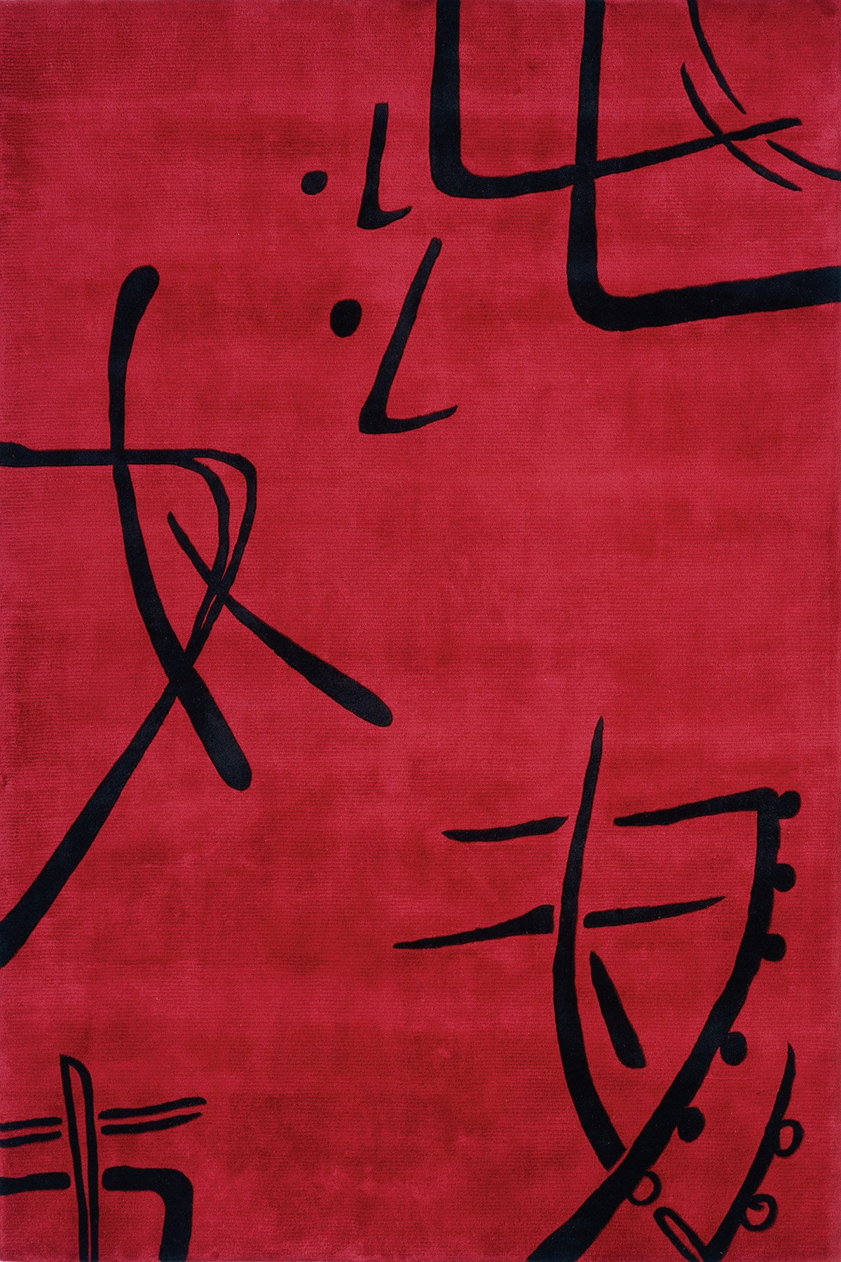 Momeni Koi KO-06 Red Area Rug main image