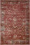 Kaitlyn KTN-1001 Red Machine Woven Area Rug by Surya